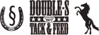 Double S Tack and Feed Sticky Logo